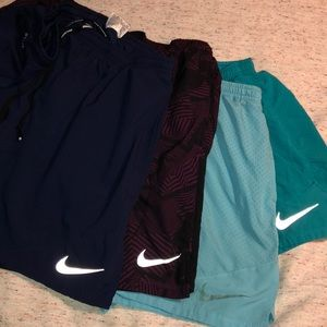 4 Pairs Nike Workout Running shorts